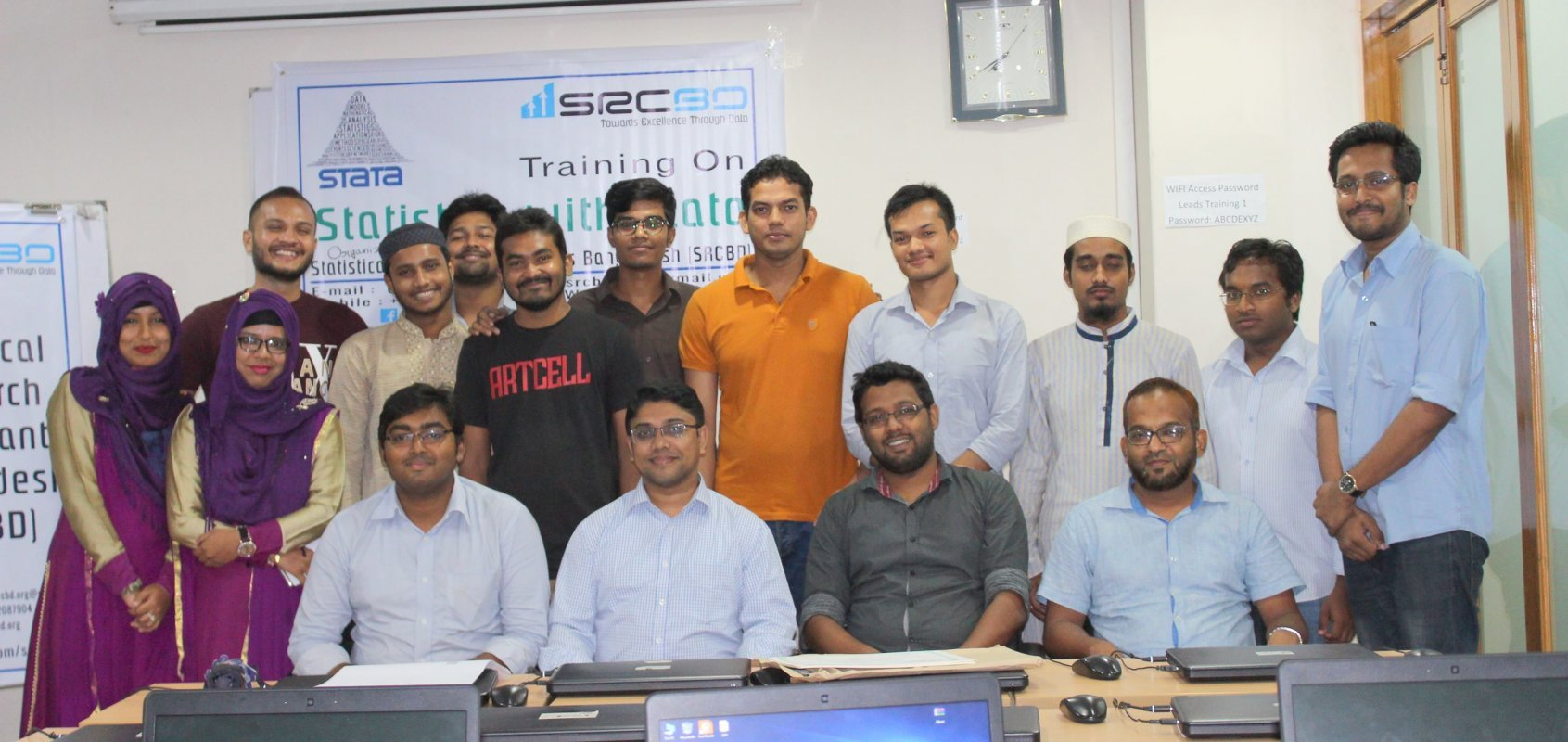 "Training on ""Statistics with Stata"""